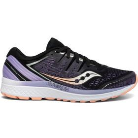 saucony Guide ISO 2 Shoes Women, black/purple